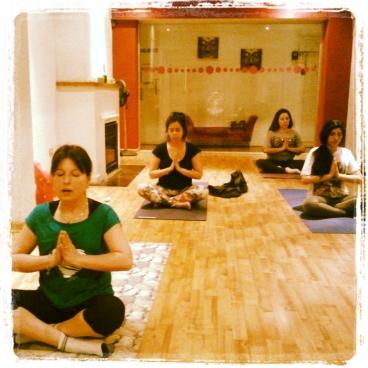 clase de yoga providencia