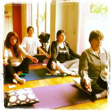 Taller meditando con el alma 2