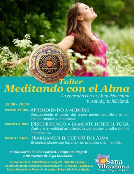 taller meditando con el alma