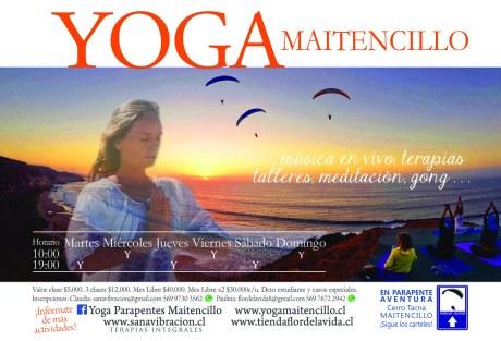 Yoga Verano - sana vibracion 2016