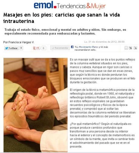 reportaje emol masaje metamorfico