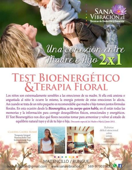 Terapia Floral Sana Vibracion 2x1 Madre e Hijo