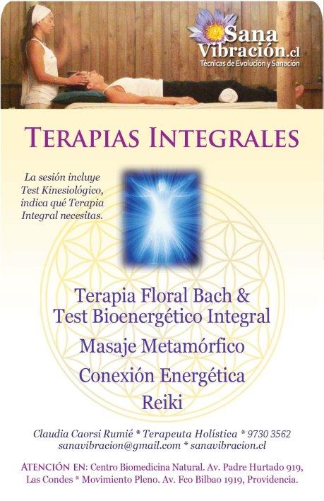 Sana Vibracion 2013 terapias