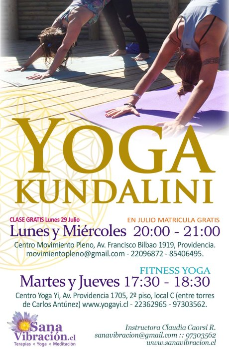 afiche yoga SV 2013