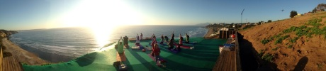 yoga parapentes maitencillo