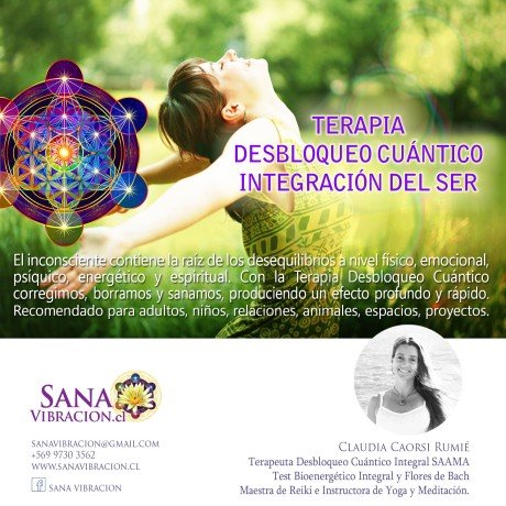 Sana Vibracion Desbloqueo Cuantico Integracion del Ser